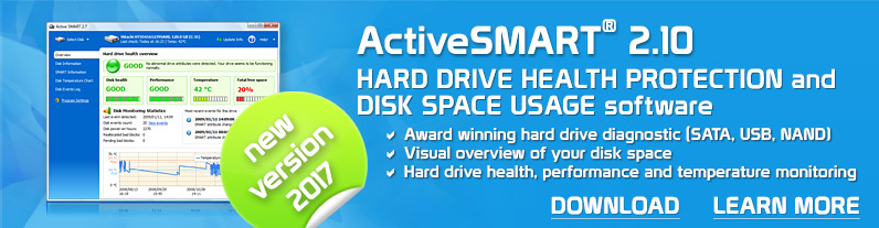 HDD diagnostics and health software