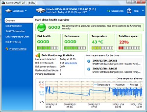 HDD SMART monitor utility. Monitor Hard drive S.M.A.R.T ...
