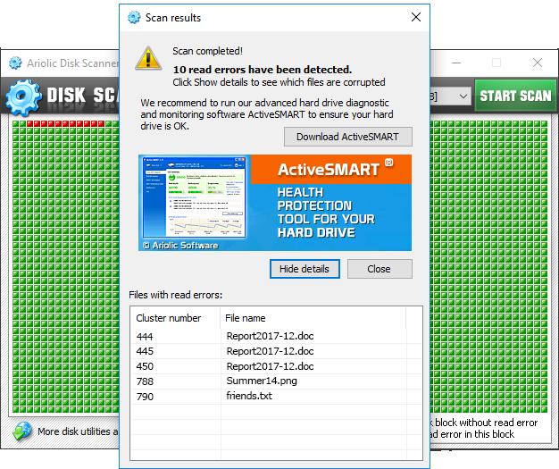 Usb disk scanner free download